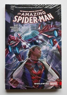The Amazing Spider-Man Worldwide Vol 1 Hardcover Marvel Graphic Novel Comic Book