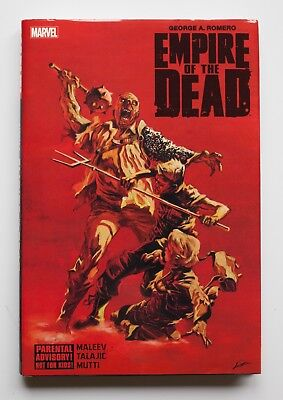 George A. Romero's Empire of the Dead Hardcover Marvel Graphic Novel Comic Book