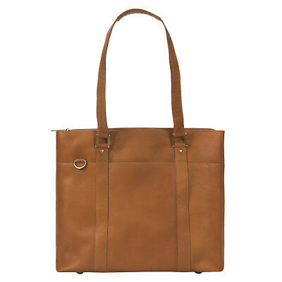 "Muiska Leather Taipei 15.4"" Laptop Business Tote Shoulder Briefcase"