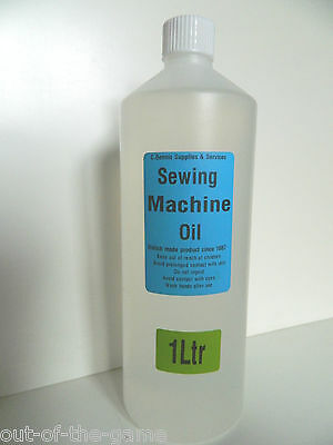 1Ltr MILLERS  SEWING MACHINE OIL SUITABLE FOR BROTHER. SINGER ETC