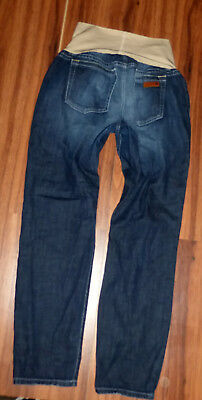 Joes Ankle Cigarette Skinny A Pea In The Pod Dark Maternity Jeans Size 31 X 29""