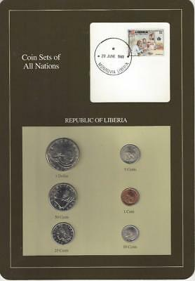 Coin Sets of All Nations - Liberia