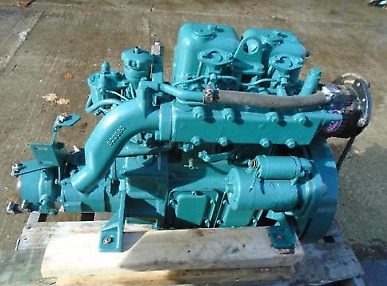 Volvo Penta MD2B 2 Cyl diesel engine motor transmission SEE YOU TUBE VIDEO
