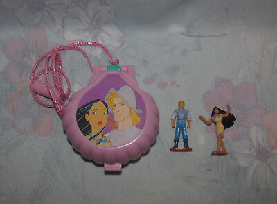 Disney Polly Pocket-Style Pocahontas Compact - Once Upon A Time - 2 Dolls