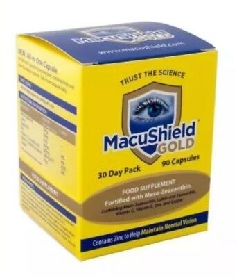 Macushield 90 Capsules 1 Month Supply 30 day pack  Exp 10/2021