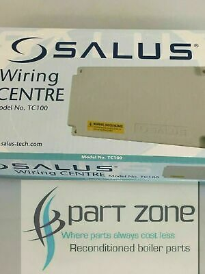 Astounding Salus Wiring Centre For Under Floor Heating 6 Thermostats And 24 Wiring 101 Akebretraxxcnl