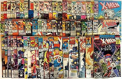 THE UNCANNY X-MEN HUGE LOT OF 60 ISSUES #193, 198, 213, 268, Annual 14, 4, 115