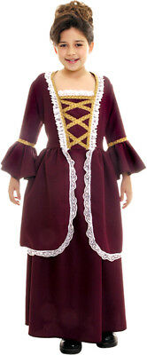 Underwraps Historic Womens Adults Costumes Colonial Girl