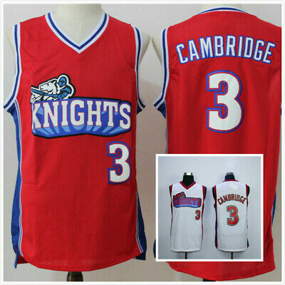 buy online bd97f cf1ac CALVIN CAMBRIDGE #3 LA Knights Basketball Jersey Like Mike Lil Bow Wow Red