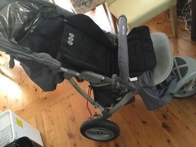 Maclaren Mx3 Pram With Rain Cover And Bassinet Pick Up Lane Cove West + Stroller