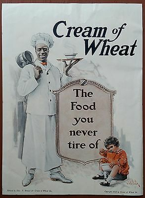 Cream of Wheat Ad           McCall's Cover           Sept. 1918         Original