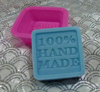 "Bulk 4 Candle melts -SOAP- making mould large ""100% hand made ""word"" Silicone"