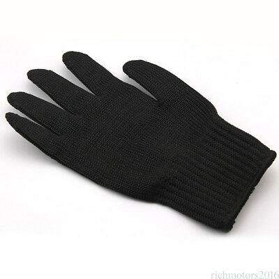Breathable Steel Wire Fishing Fillet Glove Cut Resistant Thread Weave Glove MGT5