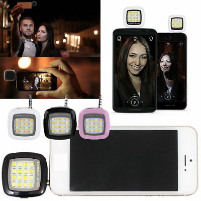 Luz Led Flash Selfie Para Smartphone Movil Tablet Foto Video Light Android - IOS