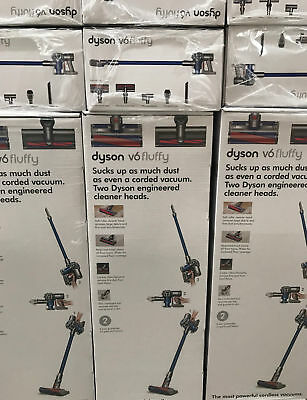 BRAND NEW BOXED SEALED Dyson V6 Fluffy Cordless Vacuum Cleaner - 2 Yrs Warranty