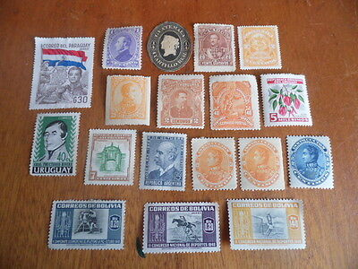 South America ~ Mixed MH ~ Lot 4 (Mags)