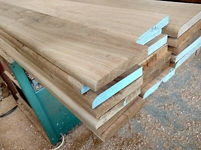 Solid Oak Pencil Skirting Board 100mm