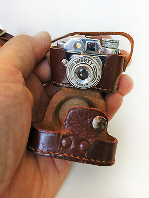 "Toko ""Mighty"" Subminiture (HIT type) Camera with Case"