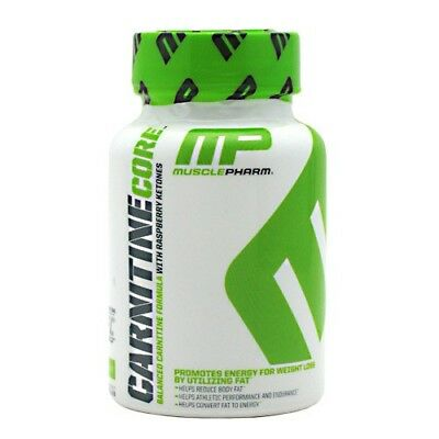 Muscle Pharm ® Carnitine Core 60 capsules. Reduce Body Fat / Free Shiipping !