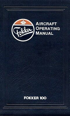 Fokker 100 - Aircraft Operation Manual ( Aom ) 1987