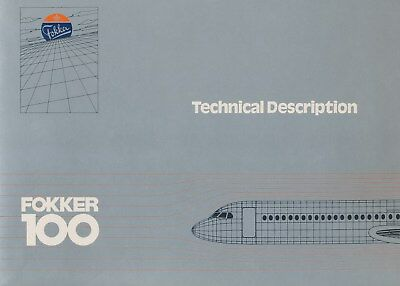 Fokker 100 - Technical Description & Aircraft Overview