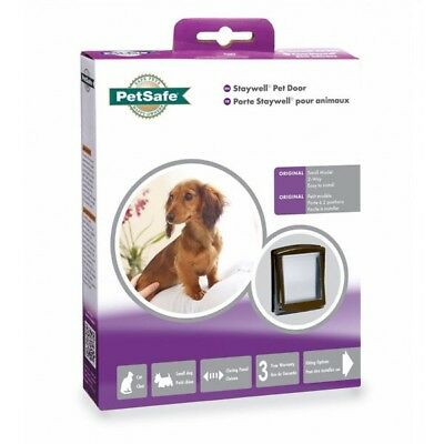 Staywell PetSafe Small Cat & Dog flap Brown Brand New 730