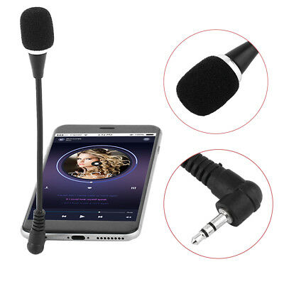 Mini Flexible Microphone 3.5mm Plug for PC Laptop Notebook Mobile Phone MN