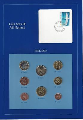 Coin Sets of All Nations - Finland, Euro