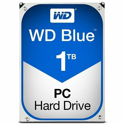 "Western Digital WD Blue 1 TB Internal 7200 RPM 3.5"" Hard Drive HDD Desktop 1TB"