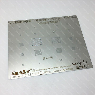 iPhone 6S FIneQuality Direct Heat BGA Chip Reball Stencil. Squre Laser Cut Steel