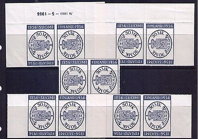 Finland 1956 Stamps Sc # 341 x5 MNH Pairs