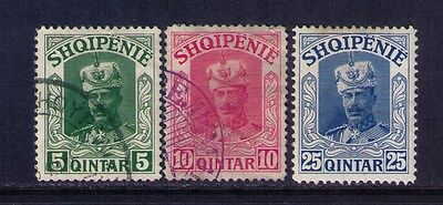 Albania Stamps,1920 Not Issued Lot of 3  MH/USED