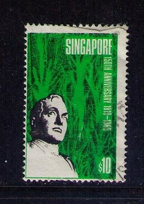 Singapore Scott# 106 Independence Anniversary Used