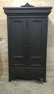 Antique Wardrobe Acme Kitchen Furniture Co Chattanooga Tn Portable Breakdown