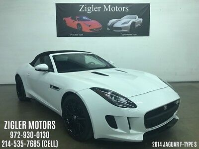 2014 Jaguar F-Type S Convertible 2-Door 2014 Jaguar F-Type V6 Supercharged S Convertible