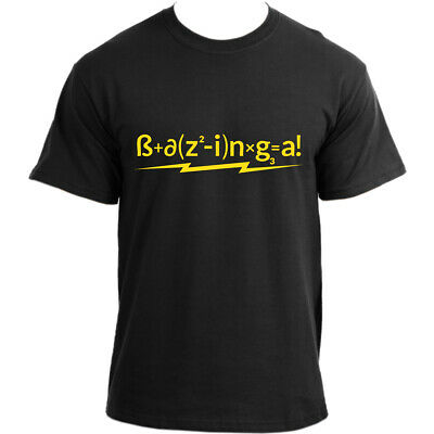 Big Bang Theory Bazinga The Formula Sheldon Cooper T-Shirt