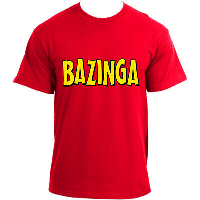 Bazinga Sheldon Cooper The Big Bang Theory Bazinga! inspired T-Shirt