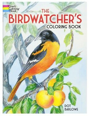 FREE 2 DAY SHIPPING: The Birdwatcher's Coloring Book (Dover Nature Coloring