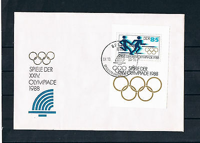 fdc ddr 1988 olympische winterspiele calgary eur 1 00 picclick de. Black Bedroom Furniture Sets. Home Design Ideas