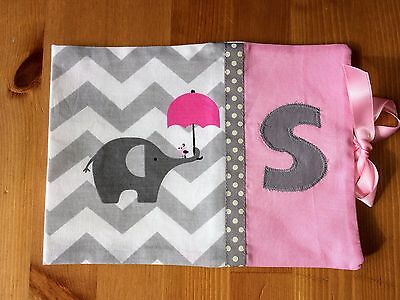 Personalised Handmade Baby Health Record Book Cover for the Red NHS Book