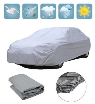 Medium Full Car Cover Uv Protection Waterpoof Breathable Elasticised