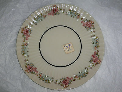 LENOX SACHET CHINA  SAUCER for FOOTED CREAM SOUP BOWL  USA NEW