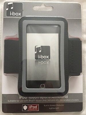 I-box iPod Touch Sports Armband 2nd 3rd 4th Generation Black Unopened New