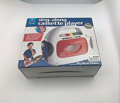 DSI My Music Maker Sing Along Cassette Player