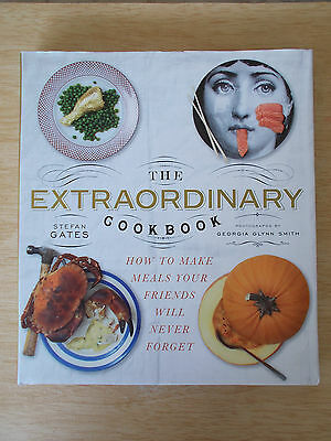 The Extraordinary Cookbook~Stefan Gates~Meals Your Friends Will Never Forget~H/B