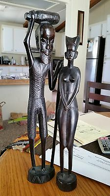 African Carved Statues