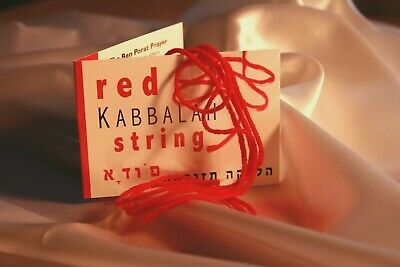 4 Red String Bracelet Eye Prayer Against Evil Luck Kabbalah Jewish Ayin Kabala