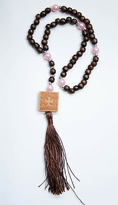 Rosary Beads Prayer Rope 50 Bless And Save Knots And Cross Różaniec Misbaha
