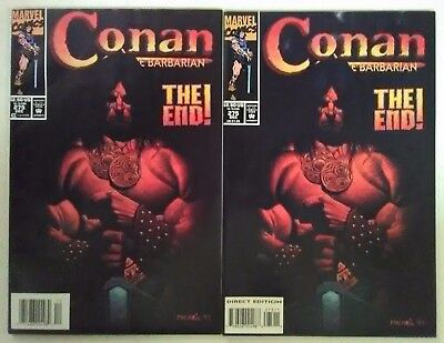 Conan the Barbarian #275 Newsstand & Direct Editions! VHTF! Very Fine Condition!