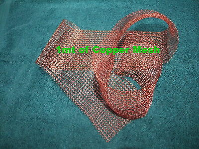 MRI,EMF, Shielding Pure 99.99% Copper Woven Mesh, RF or Faraday Cage, Waveguides